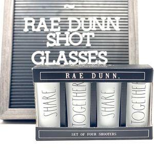 RAE DUNN Shooters (4)